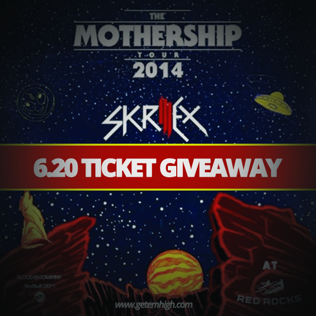skrillex red rock giveaway copy