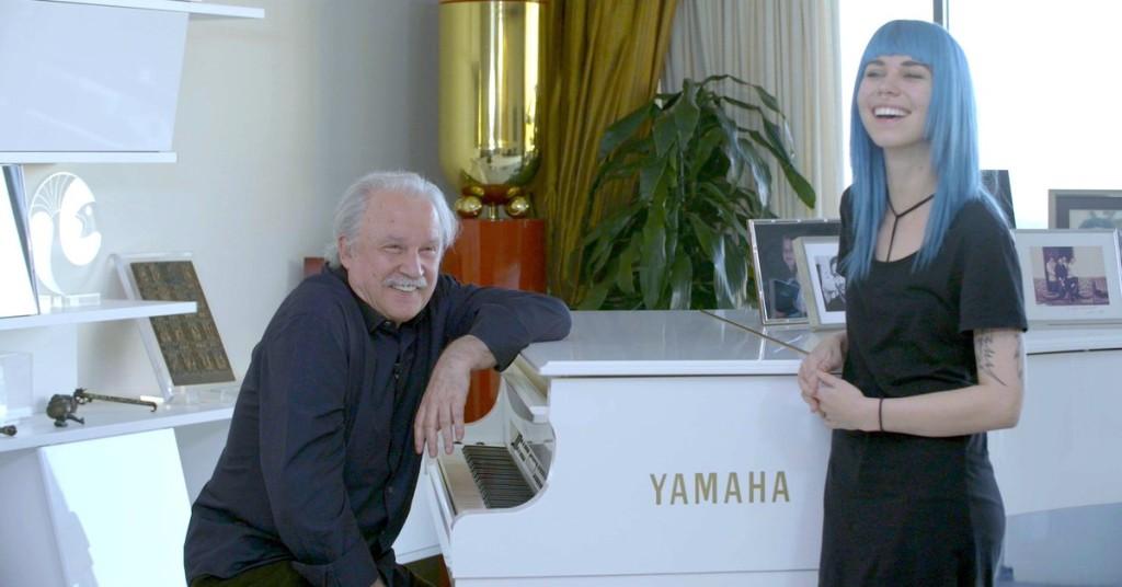 Mija and Giorgio Moroder