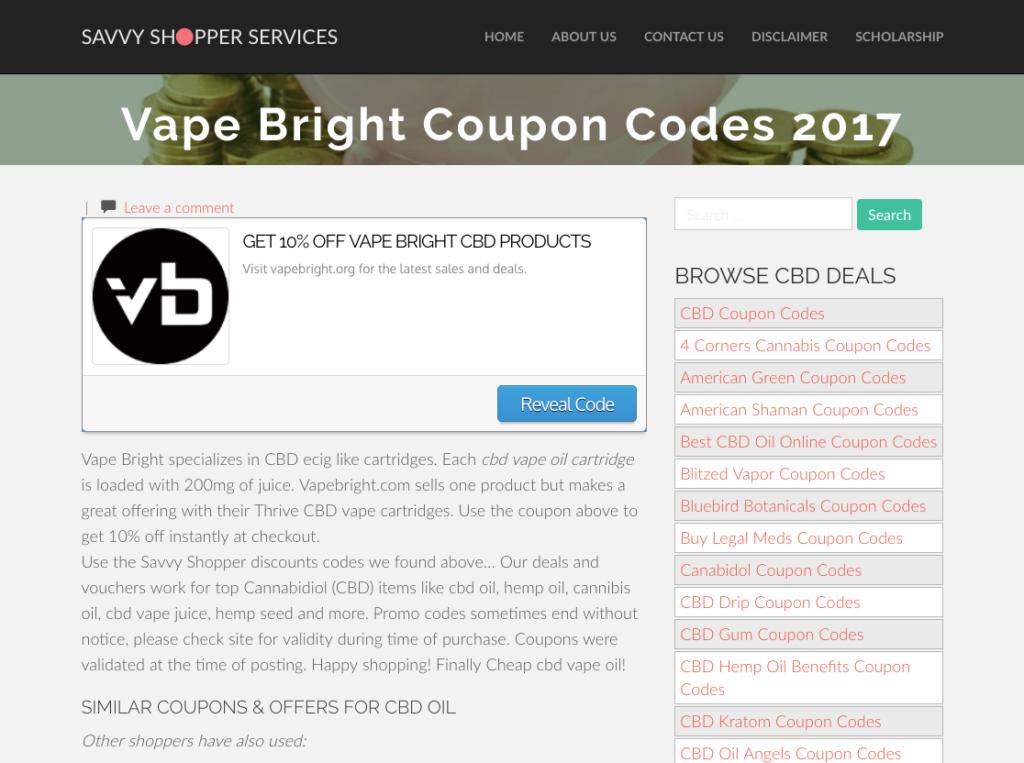Get Em High » GET 10% OFF VAPE BRIGHT CBD PRODUCTS
